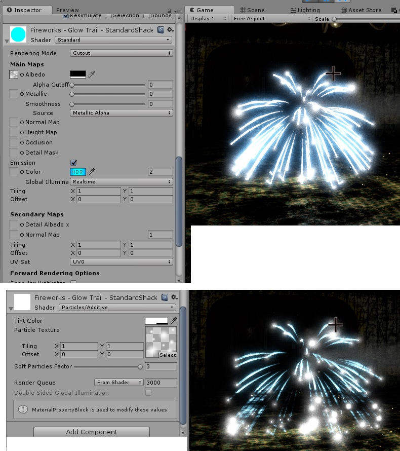 Using the standard shader for particle system - Unity Forum