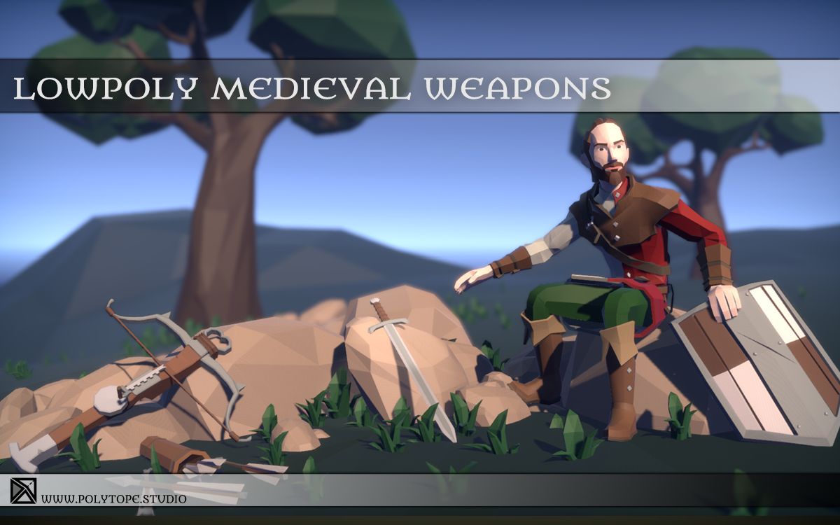 PT_Medieval_Lowpoly_Weapons_Diorama.png
