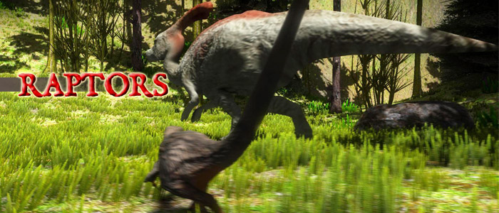 RAPTORS - become a dinosaur - prototype (3D TPP game ...