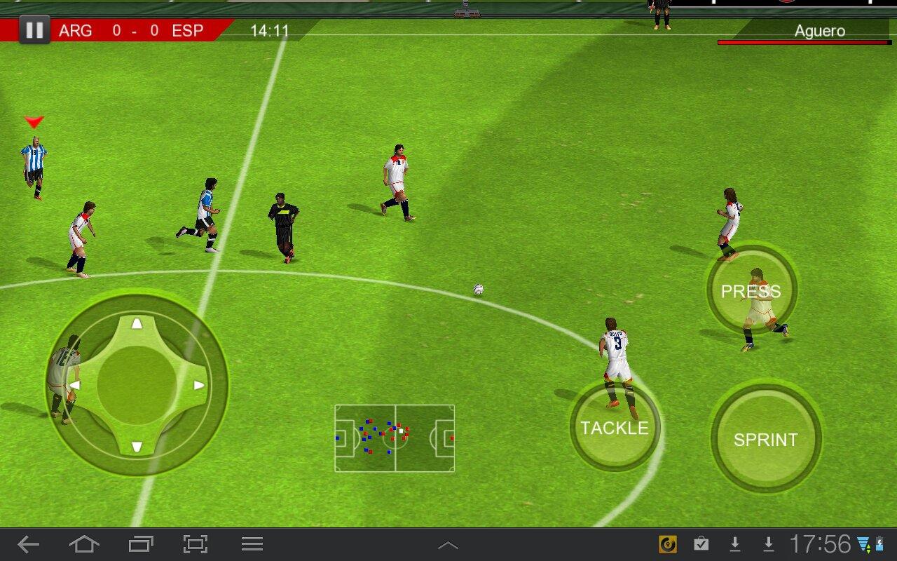Скачать программу про футбол на андроид
