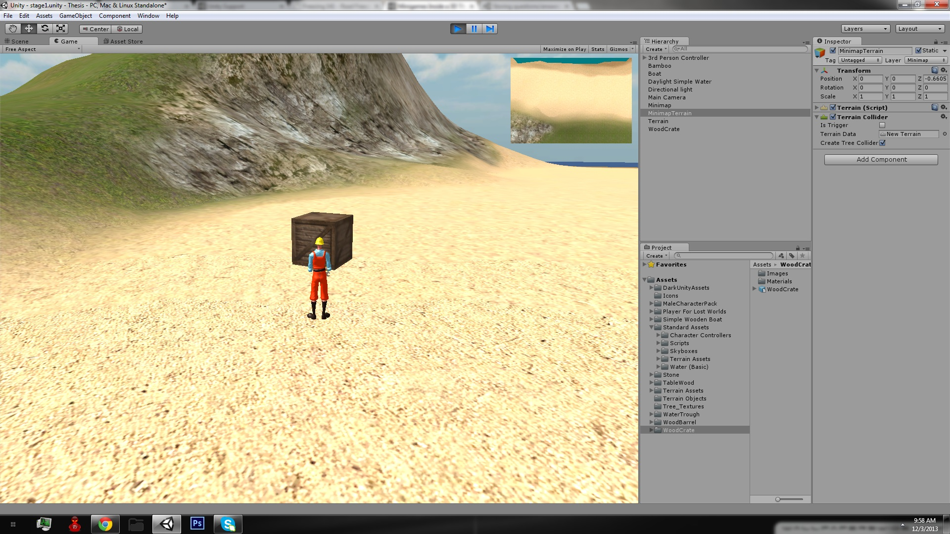 unity simple game