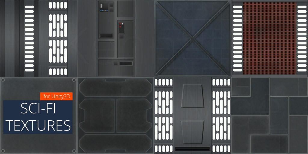 Sci Fi Star Wars Inspired Textures Unity Community