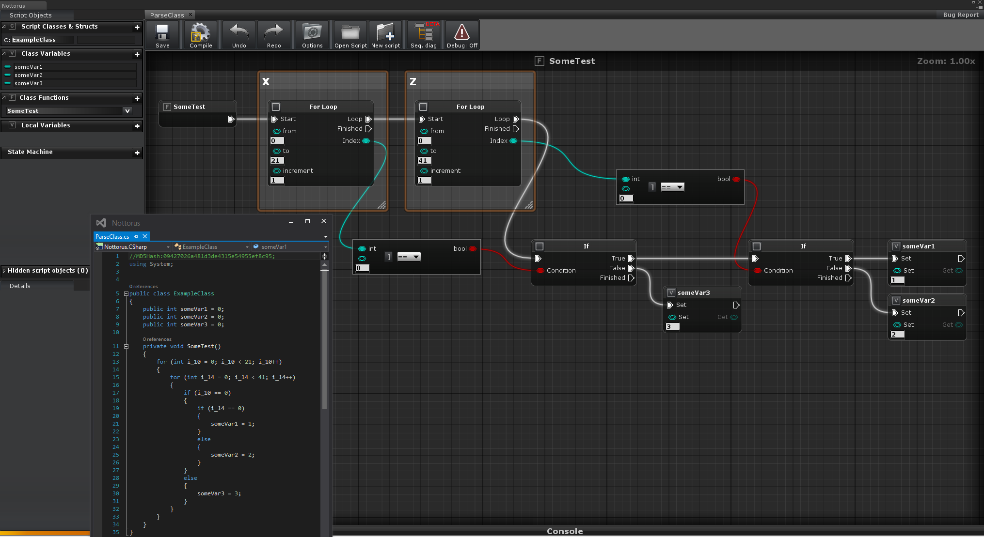 Released nottorus unlimited visual programming plugin unity scr1g malvernweather Image collections