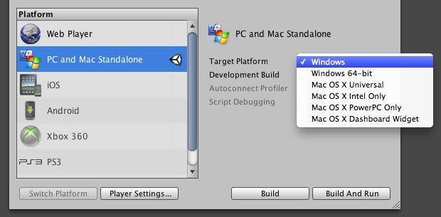 Unity Can I Make A Mac Build On Windows