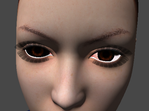 How To Correctly Setup DAZ/Poser Character Eye Textures And