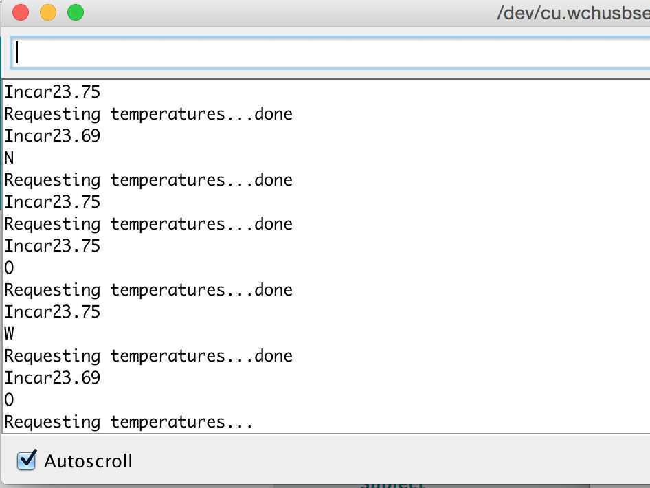 Using the arduino ds b temperature sensor in unity