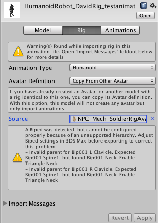 FBX to 3ds Max Biped workflow questions - Unity Forum