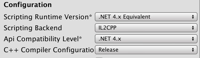 Can't build standalone player on macOS with IL2CPP - Unity Forum