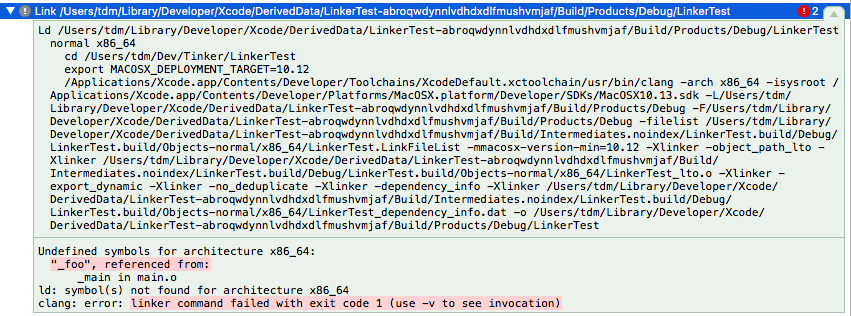 Error on Xcode when trying to Archive an ARFoundation Project from