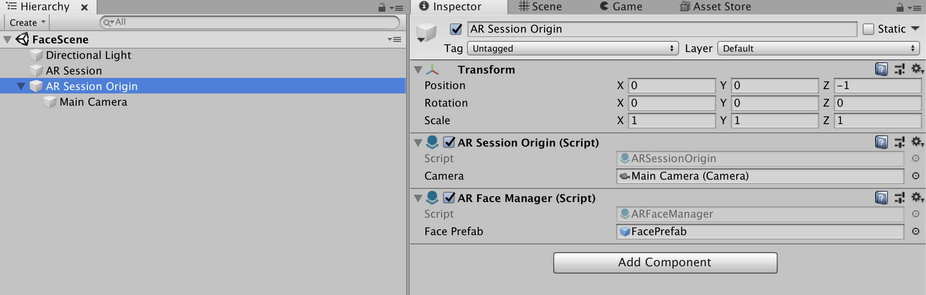 ARFoundation Face Tracking step-by-step - Unity Forum