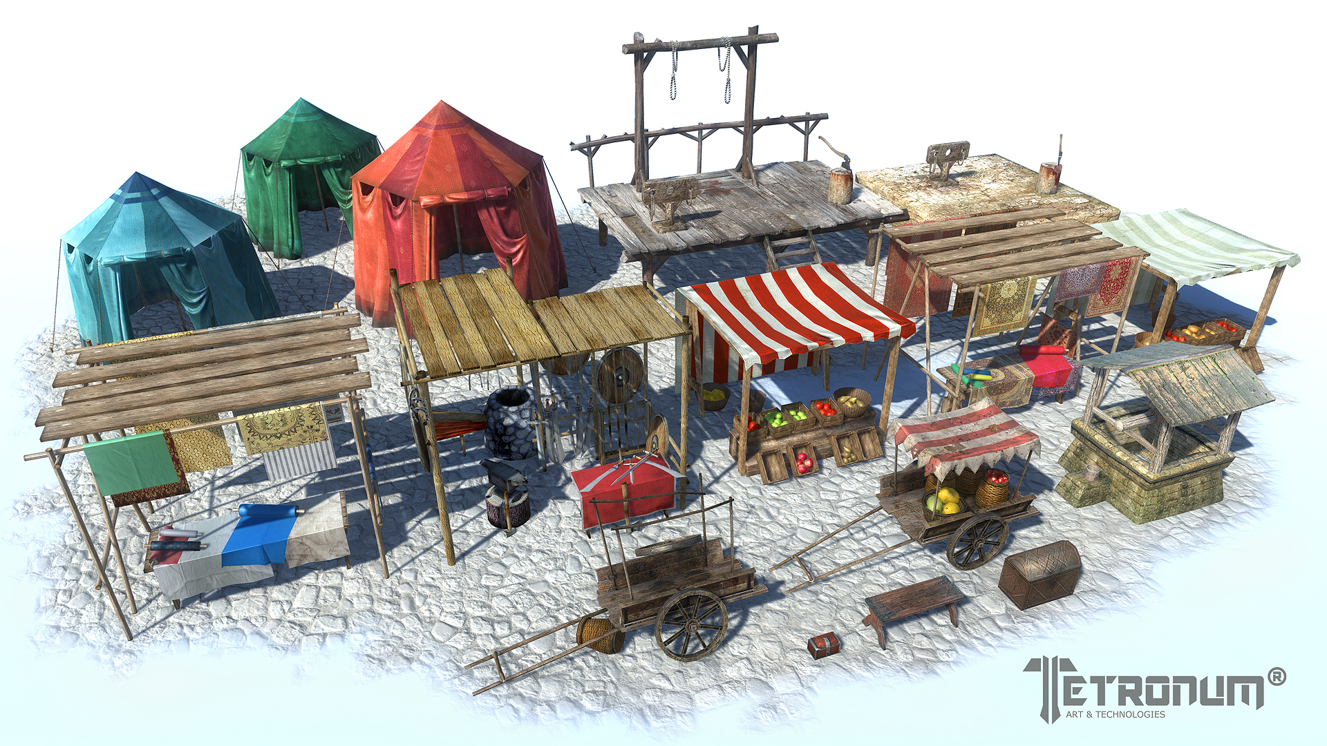 RELEASED] Medieval City Market / Marketplace Pack - Unity Forum