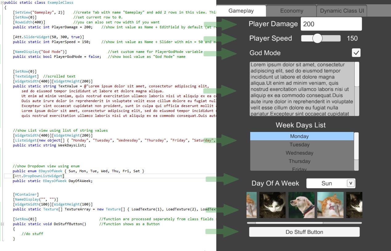 COMING SOON] UI Generator - Cheats Menus & Debug GUI