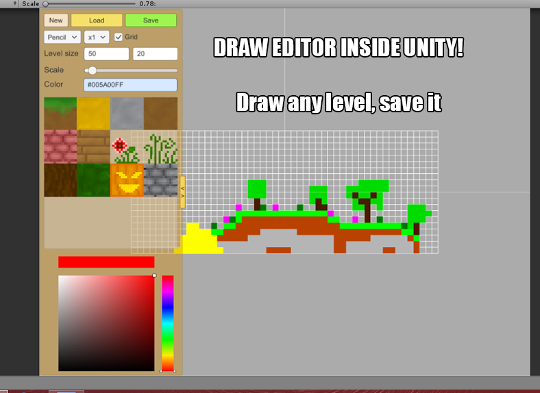 Map Creator 2d 3d In Pixels Unity Forum