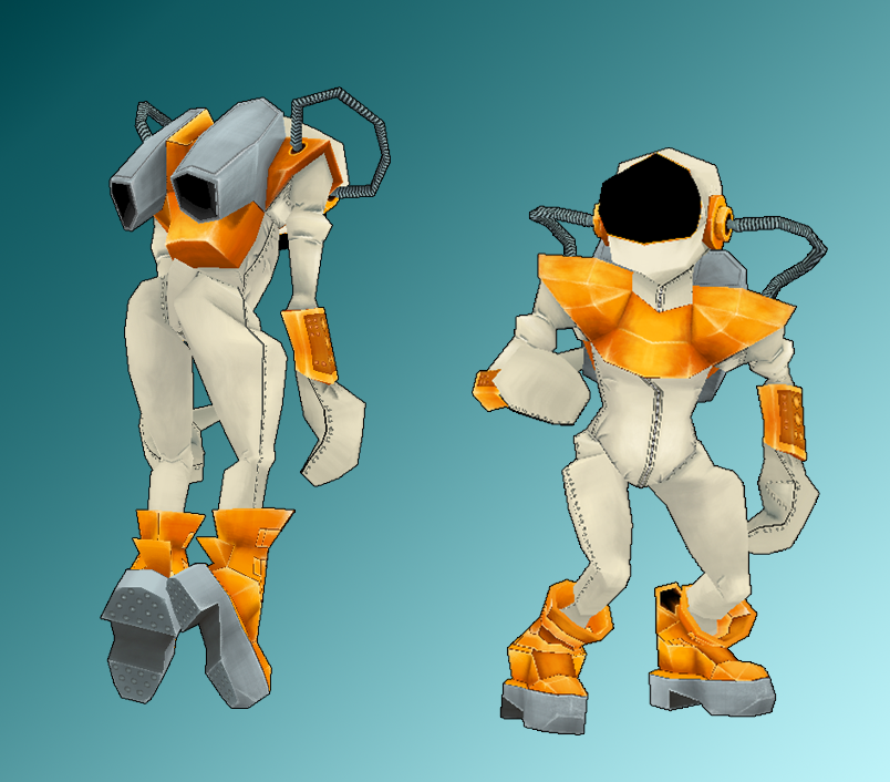 Cartoon Characters Unity : Human cartoon character cosmonaut soon available on asset