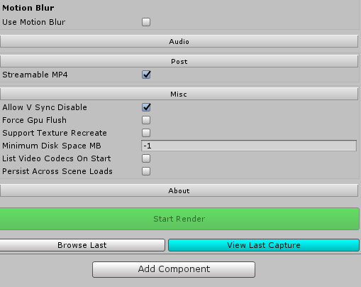 Released] AVPro Movie Capture | Page 15 - Unity Forum