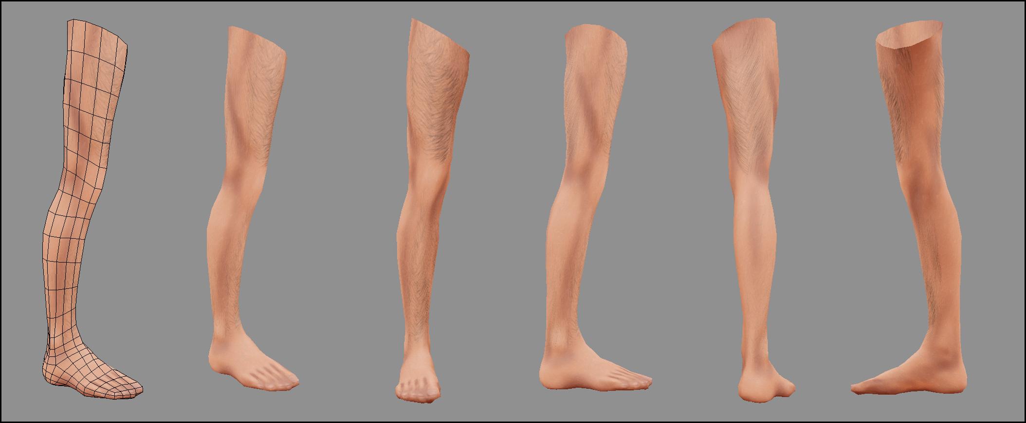 Human Body Base : Male nacked | Unity Community