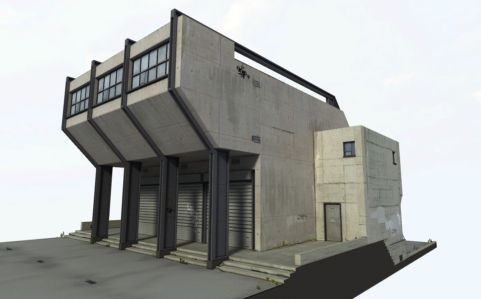 released industrial building