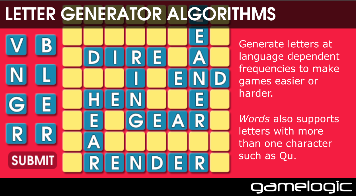 Gamelogic Words A Library Of Word Game Algorithms Unity Forum