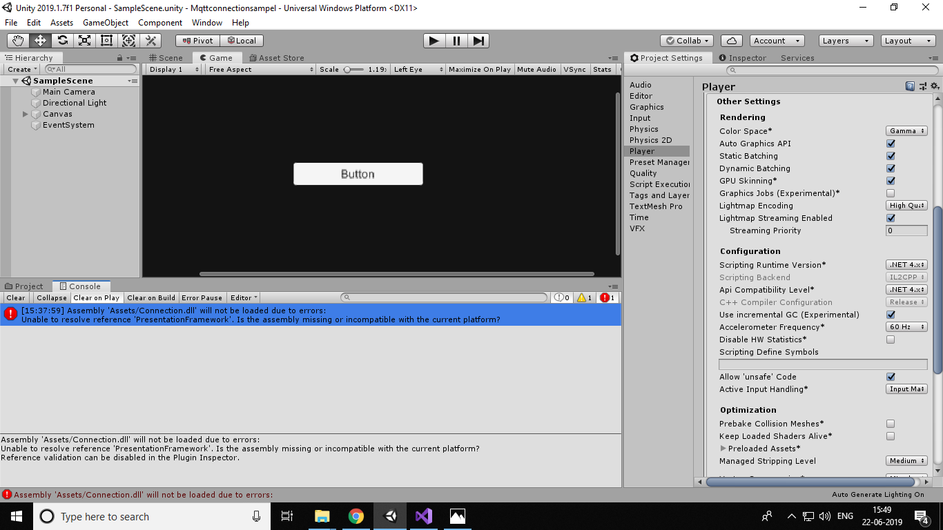 DLL compiled with  NET 4 5 doesn't work - Unity Forum
