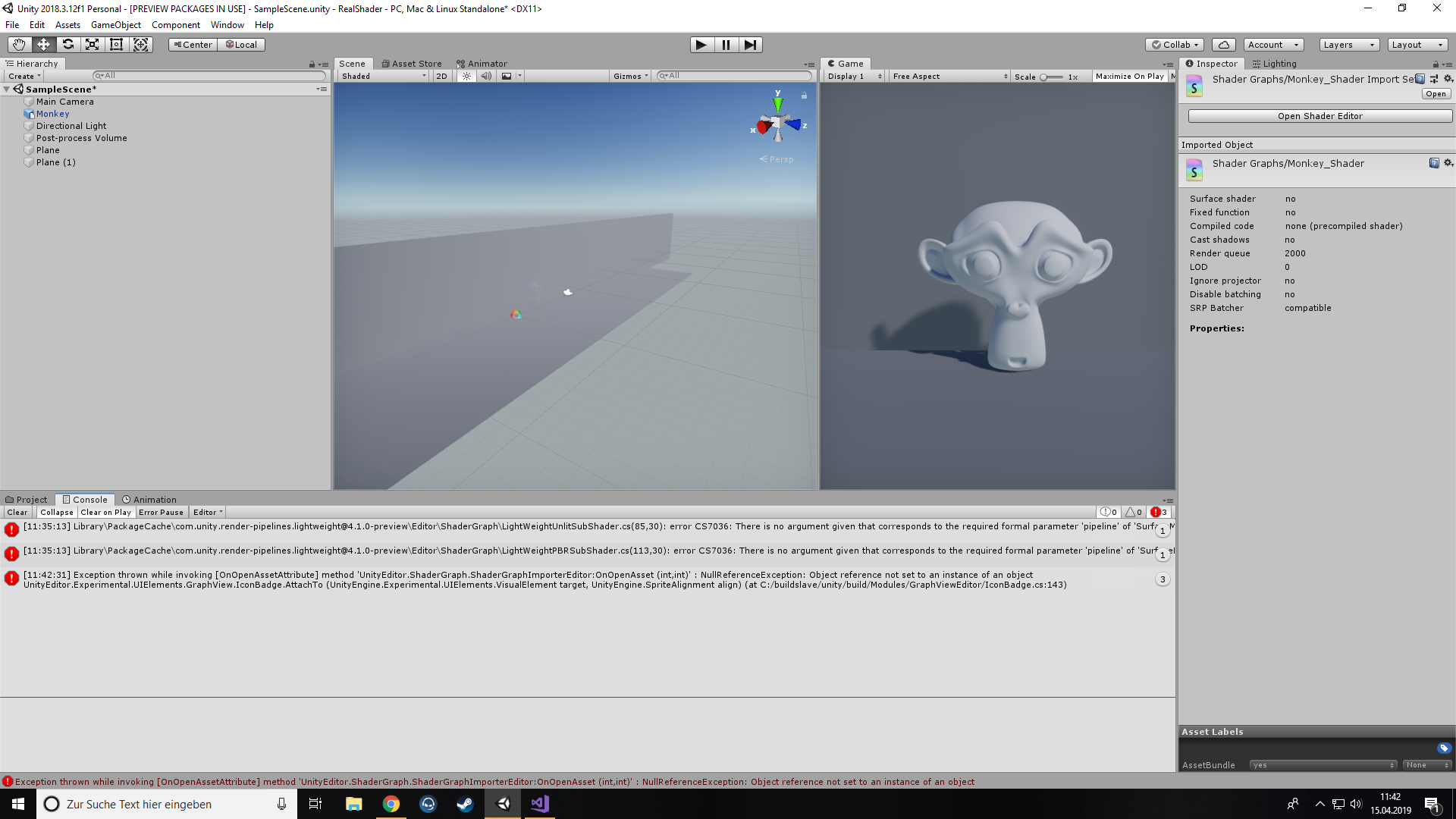 Shader Graph Isnt Working - Unity Forum