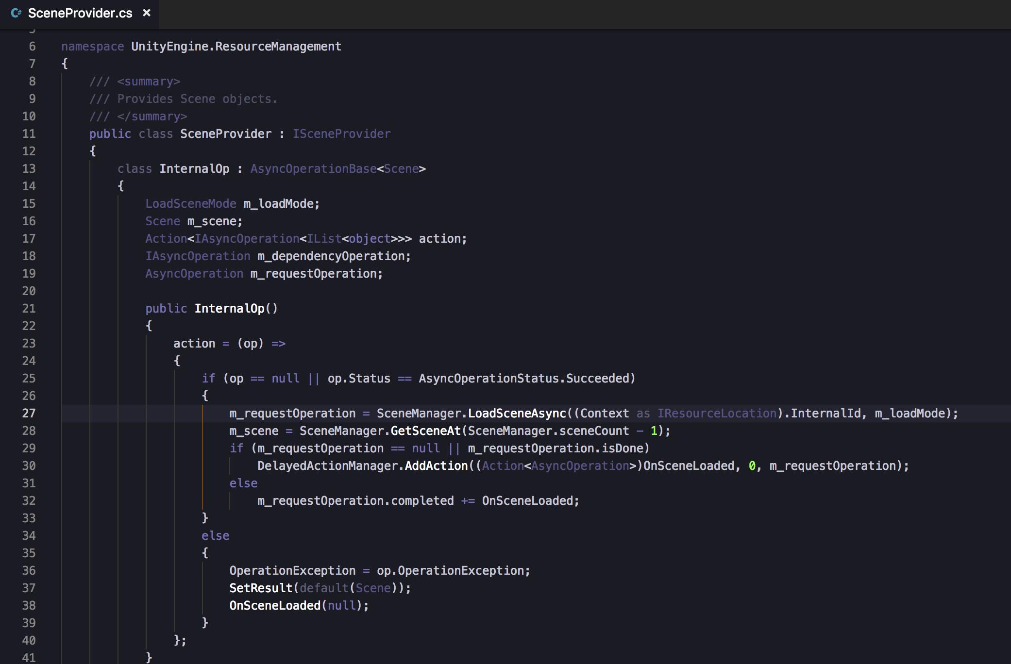 Addressables LoadScene is not asynchronous? - Unity Forum