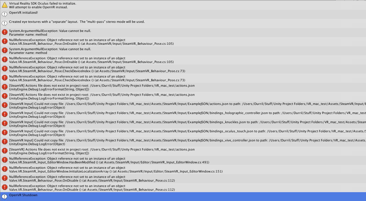VR development on Mac - current state (?) - Unity Forum