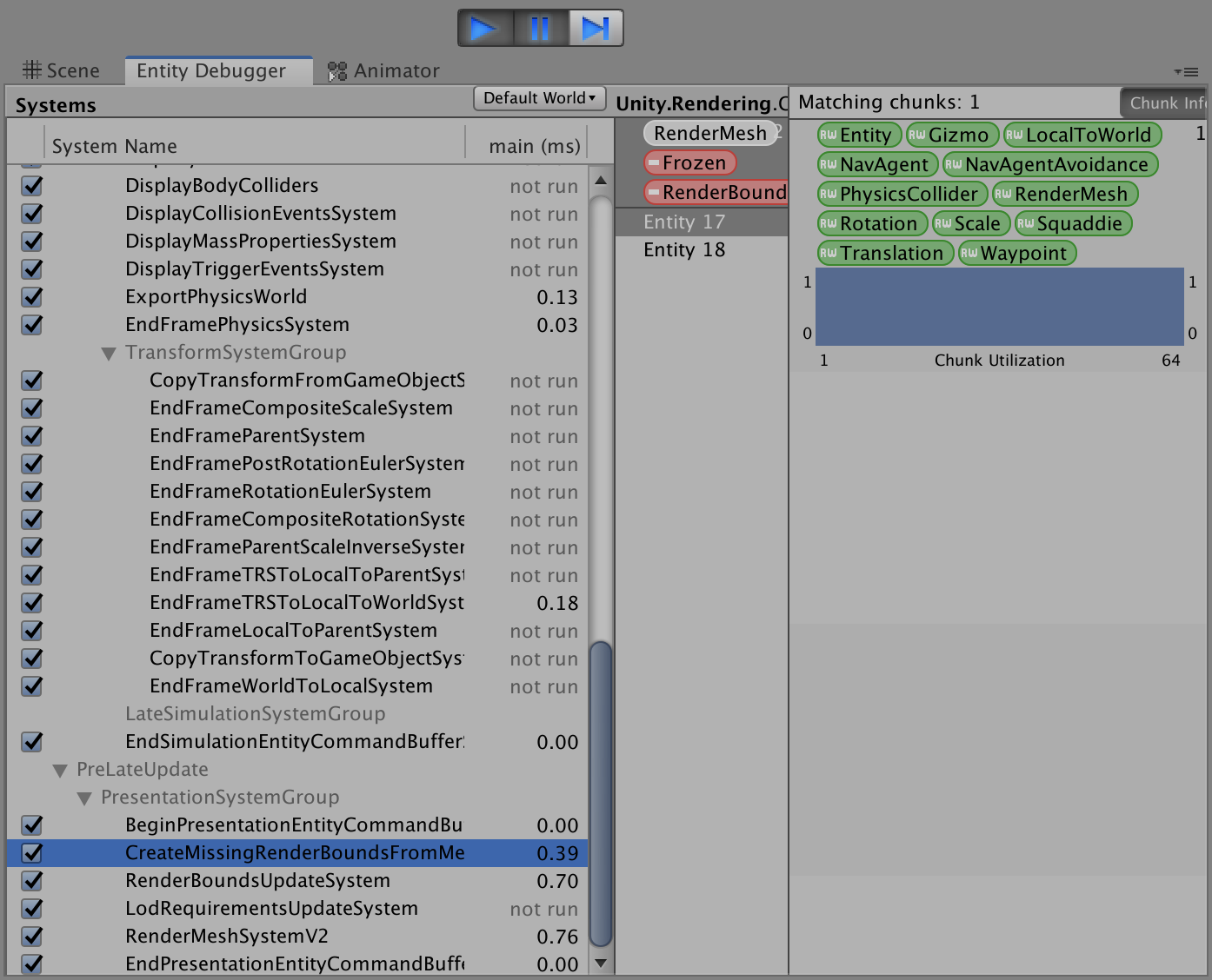 RenderBounds not created (Pure ECS with Hybrid Rendering) - Unity Forum