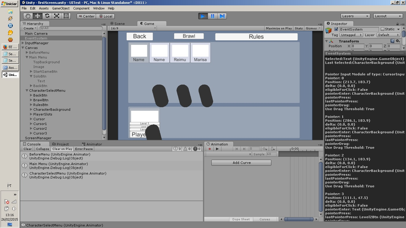 How to create a mouse-like cursor to be controlled by the