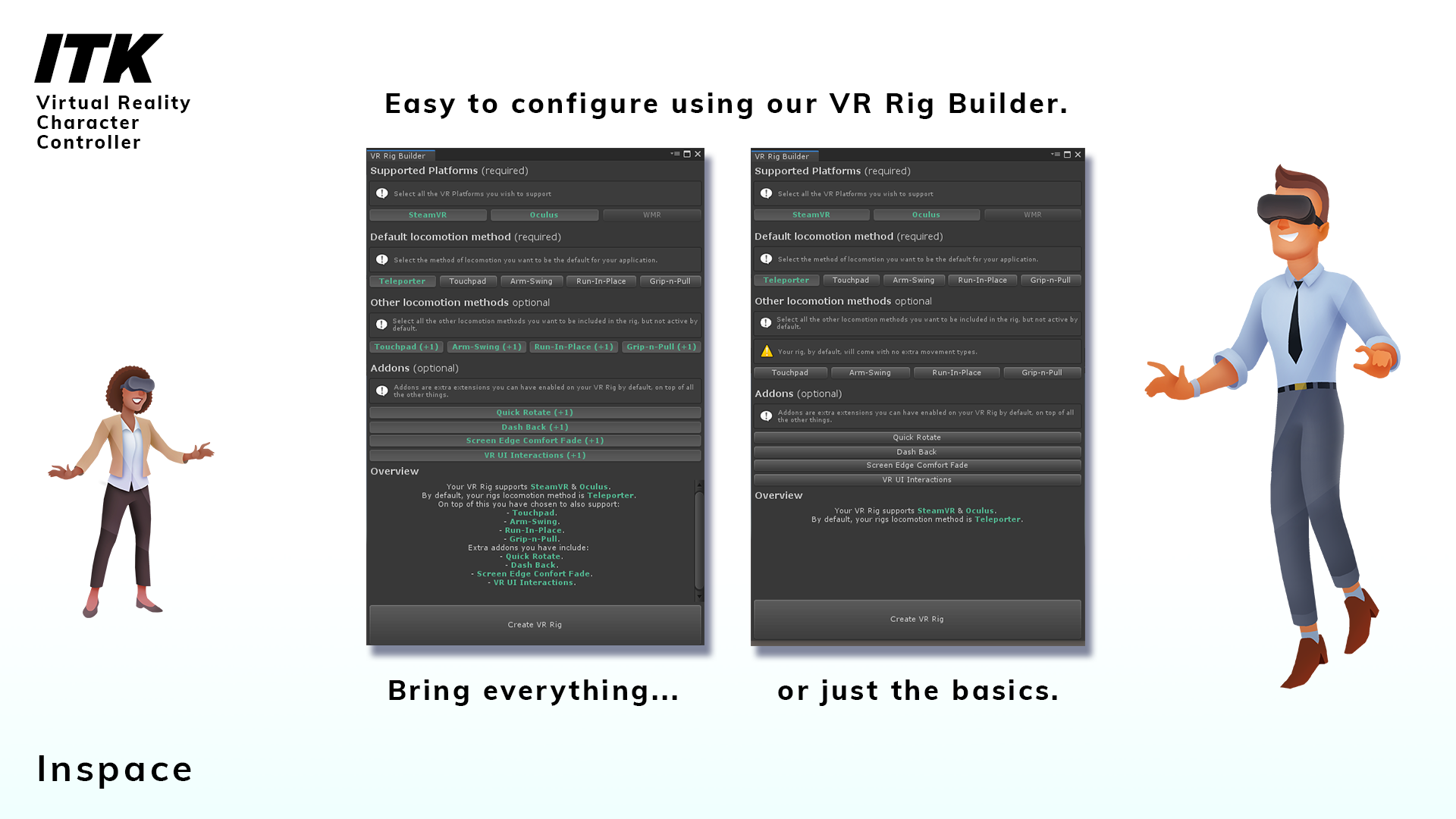 RELEASED] VR Character Controller - Inspace Toolkit (ITK) - Unity Forum