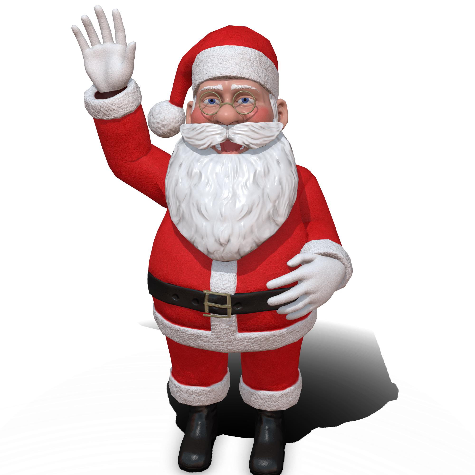 [RELEASED] Cartoon 3D Santa Claus