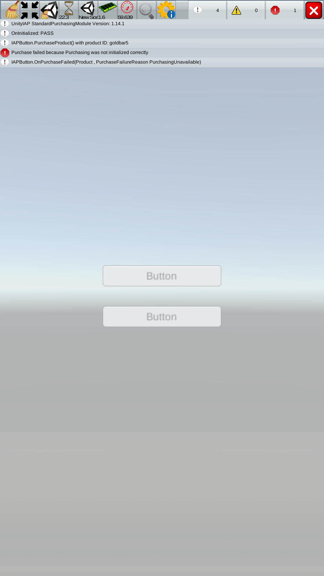 Closed] IAP works fine in editor but not in Build (apk) - Unity Forum