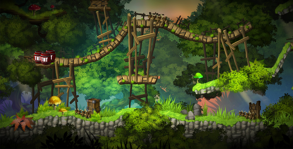 2D Forest Pack Platformer/Runner assets [RELEASED] - Unity ...