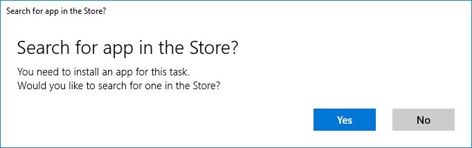 Windows standalone displays popup on start: