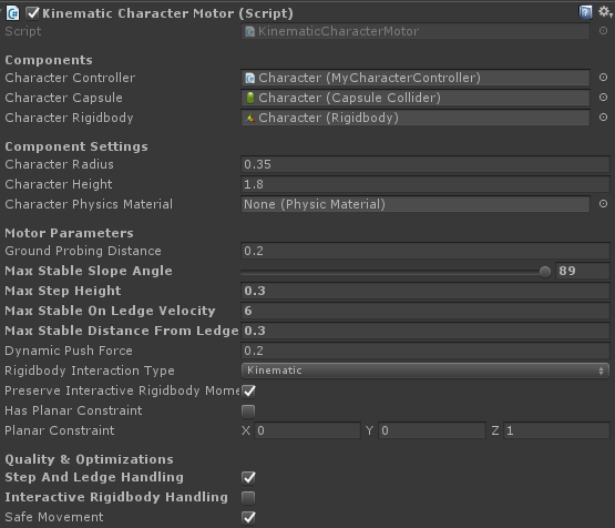 Released] Kinematic Character Controller | Page 6 - Unity Forum