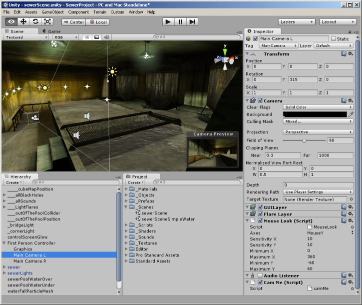 multiple monitor setup with multiple cameras - Unity Forum