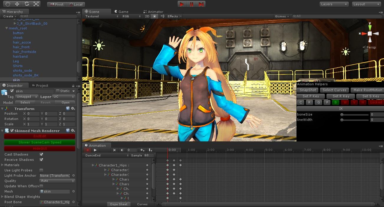 Unity Asset - Skele - Character Animation Tools : Bajar