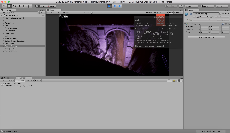 Austin demo very slow in mac - Unity Forum