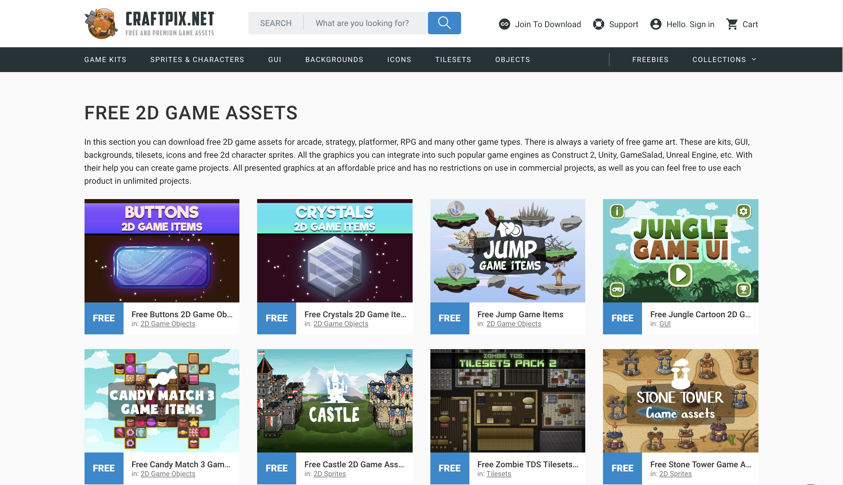 2D Game Assets - Unity Forum
