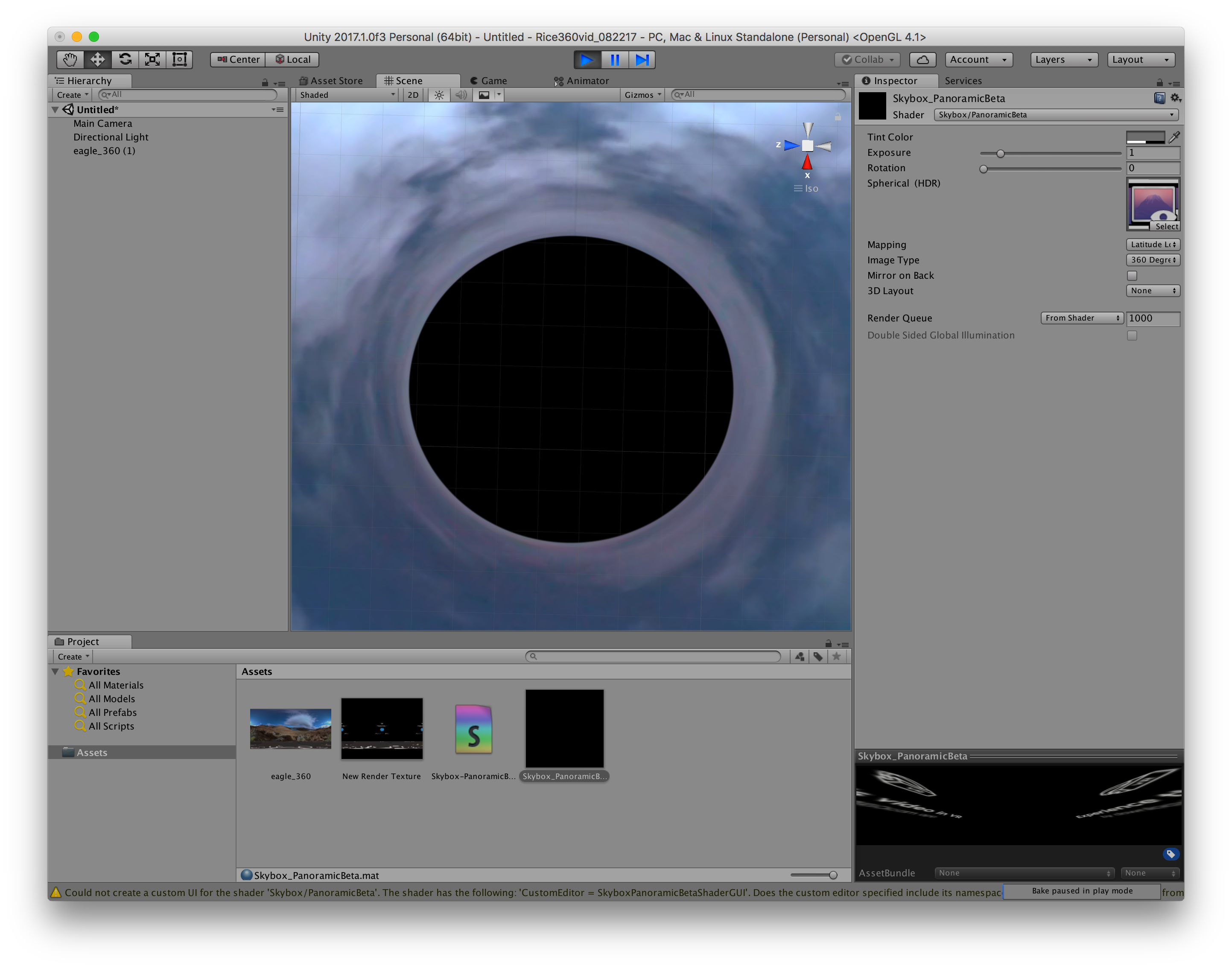 How to integrate 360 video with Unity - Unity Forum