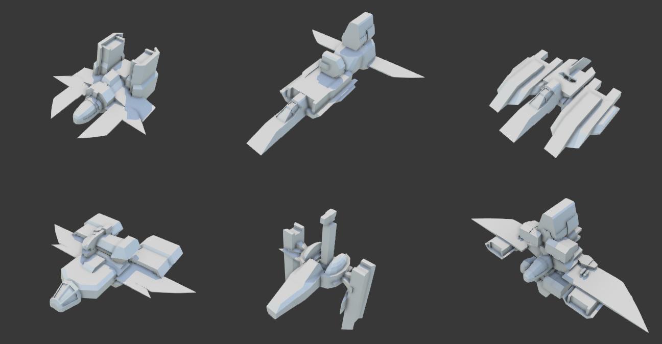 Procedural Spaceship Generator - Unity Forum
