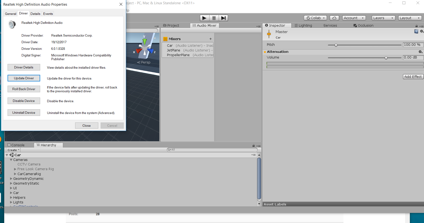 Changing Audio Mixer Group volume with UI slider - Unity Forum