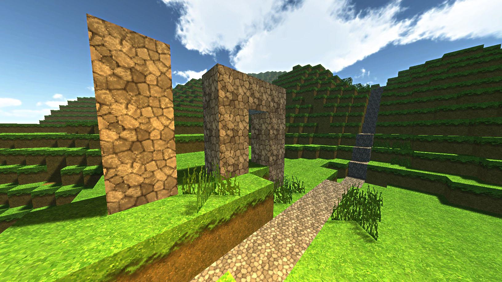 Unity Minecraft Engine