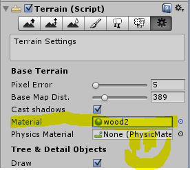 how to make a good terrain in unity