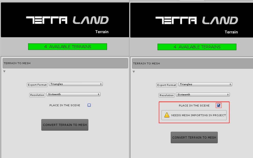 TerraLandTerrain_TerrainToMeshSection_PlaceInTheScene.jpg