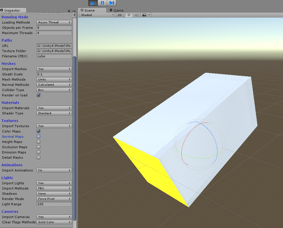RELEASED] UniFBX (2) FBX Mesh Importer At Runtime - Unity Forum