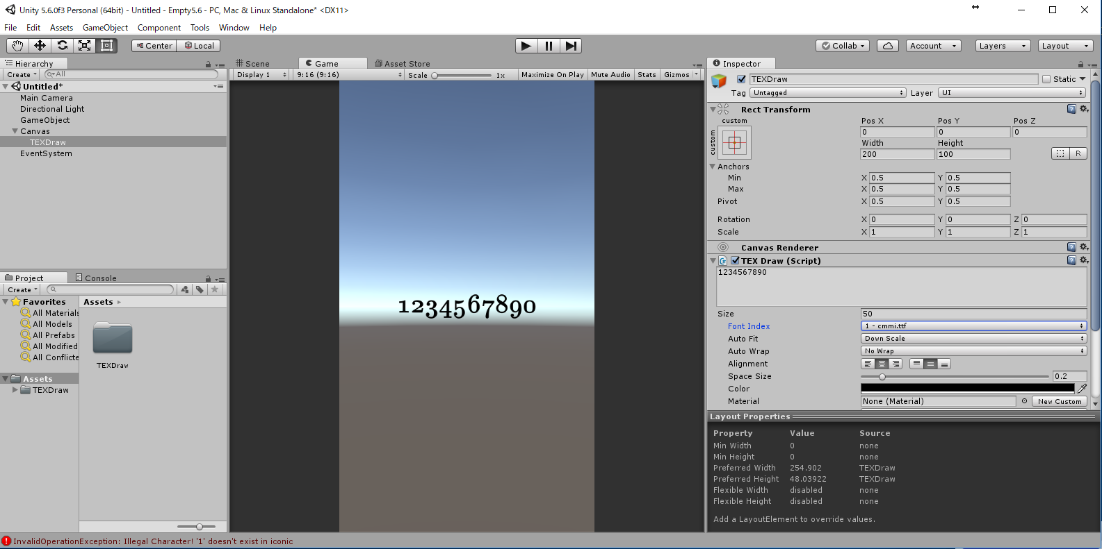 TEXDraw - Create Math Expressions inside Unity! | Page 4 - Unity Forum