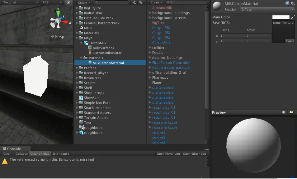 Another Maya -> Unity texture missing post - Unity Forum