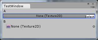 show file field instead of image box for texture2d in editor - Unity