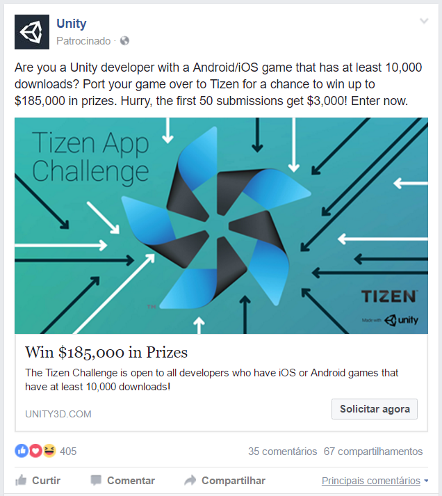Samsung TIZEN App Challenge Made with Unity - Unity Forum