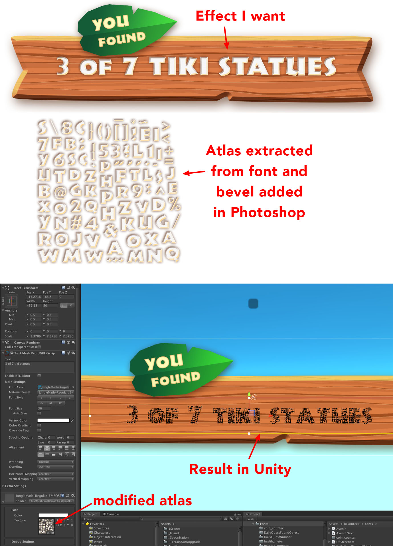 TextMesh Pro - TMP and custom font - Unity Forum